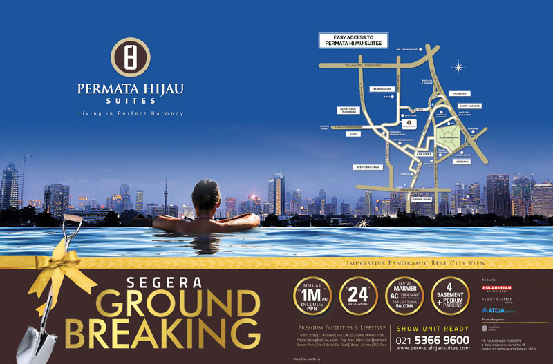 Permata Hijau Suites Segera Ground Breaking