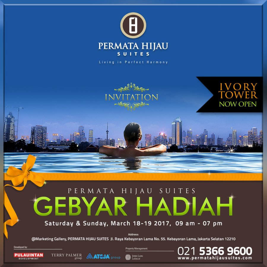 Gebyar Hadiah – Ivory Tower Now Open
