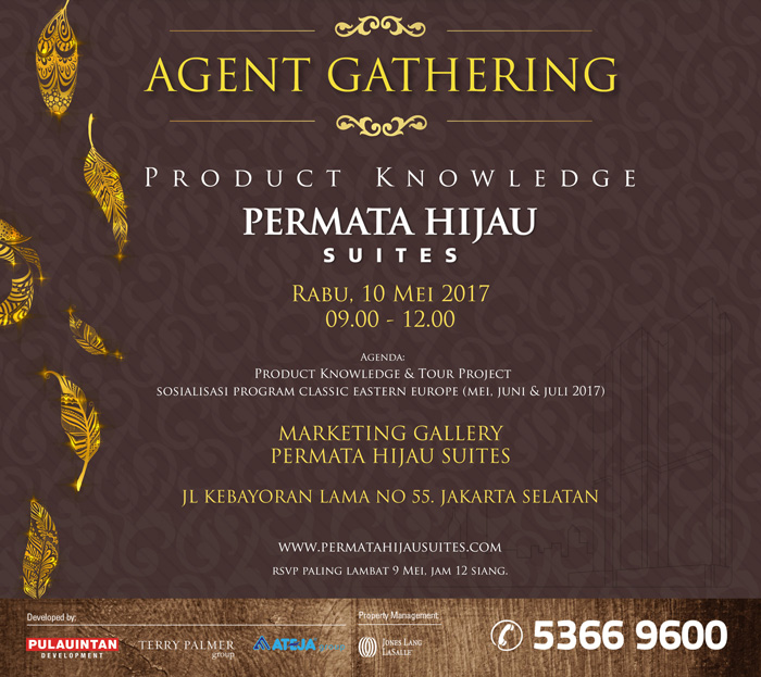 Agent Gathering – Product Knowledge Permata Hijau Suites