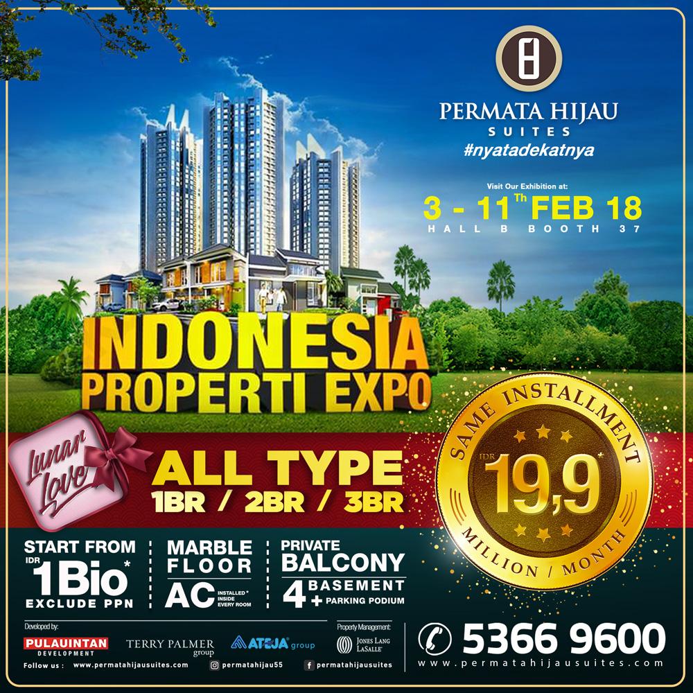 Kami hadir di Indonesia Property Expo 2018