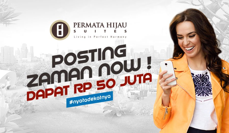 Posting Competition nyatadekatnya Permata Hijau Suites