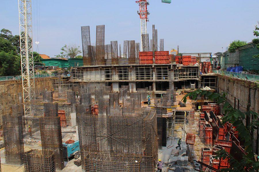 Progress Project Permata Hijau Suites, 26 Oktober 2018