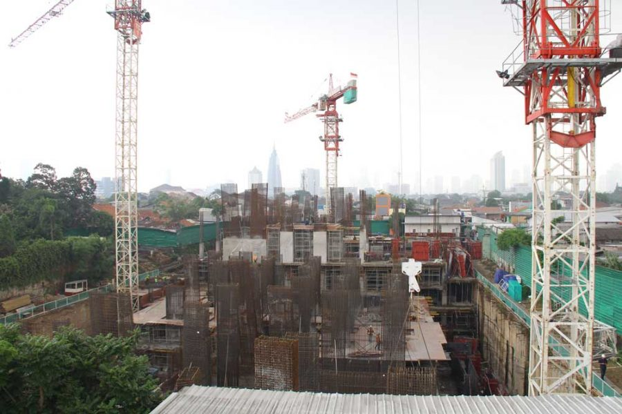 Progress Project Permata Hijau Suites 9 November 2018