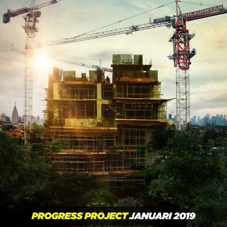Progress Permata Hijau Suites, 2 Januari 2019