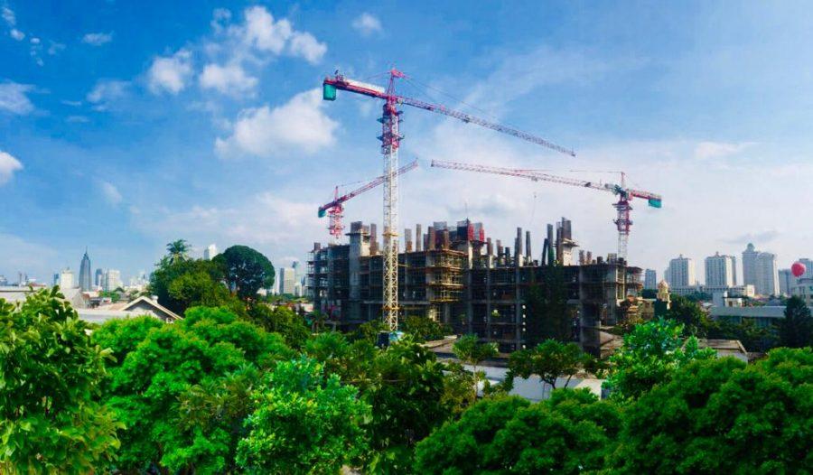 Progress Project Permata Hijau Suites, 12 Januari 2019