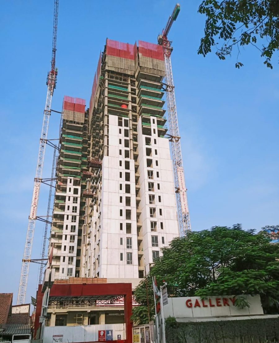 Progress Project Permata Hijau Suites, 29 Mei 2019