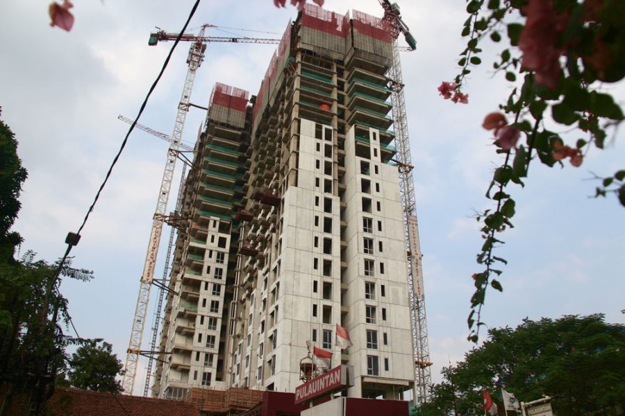 Progress Project 17 Juni 2019, Permata Hijau Suites