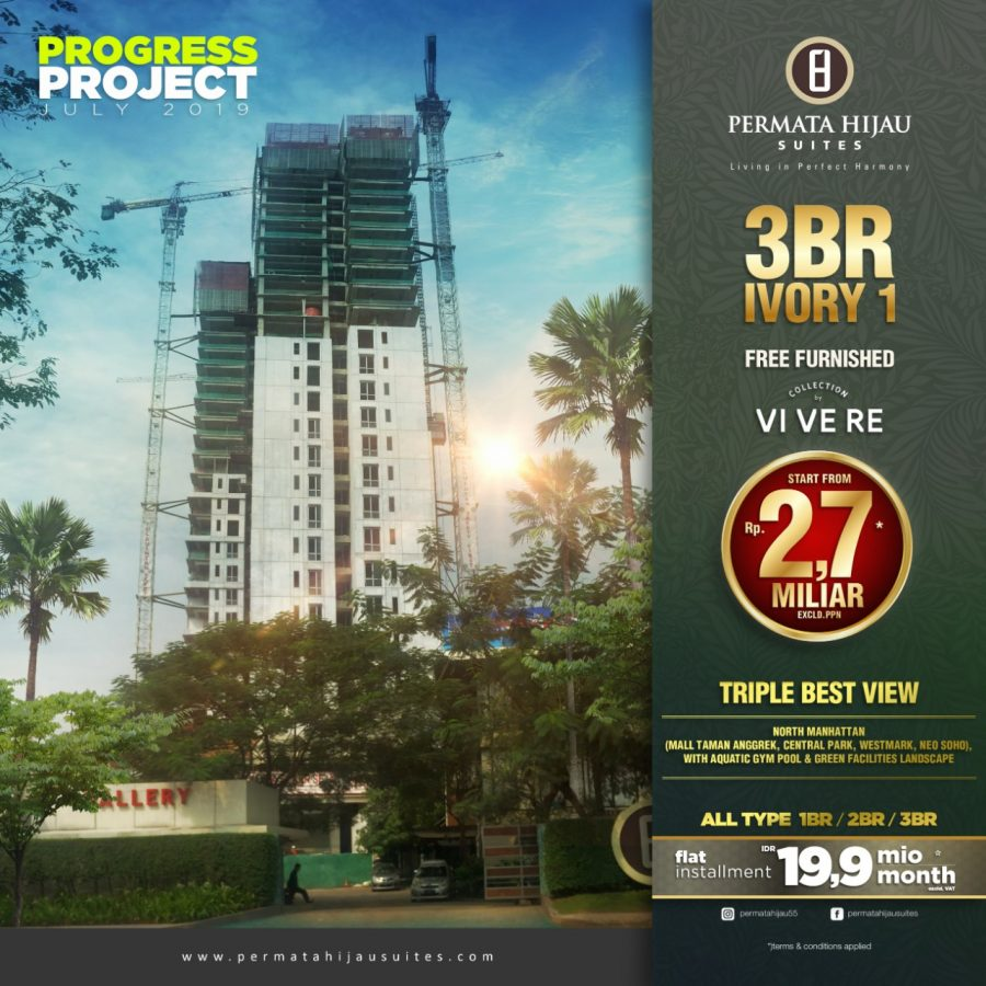 Progress Project Permata Hijau Suites, 9 Juli 2019