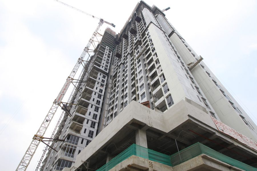 Progress Project Permata Hijau Suites, 28 Agustus 2019