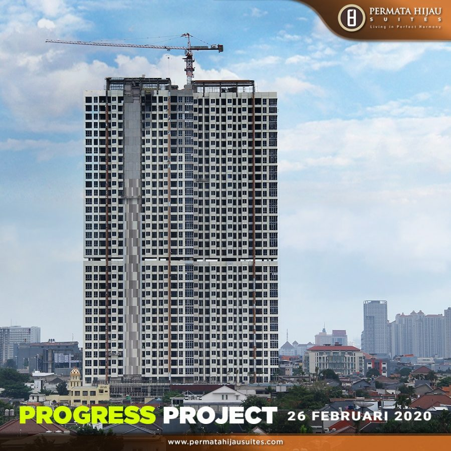 Progress Project Permata Hijau Suites, 26 Februari 2020