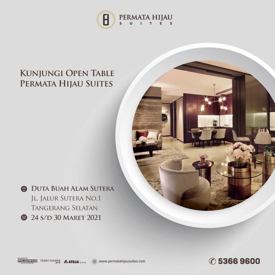 Open Table @Duta Buah Alam Sutera