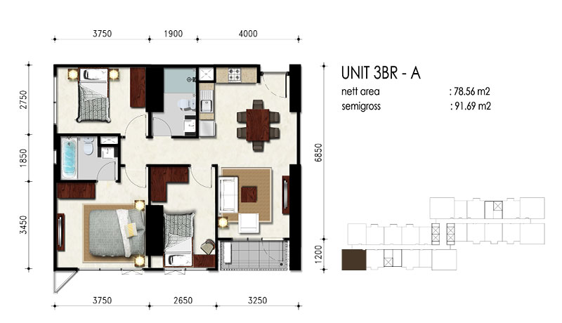 3BR - A