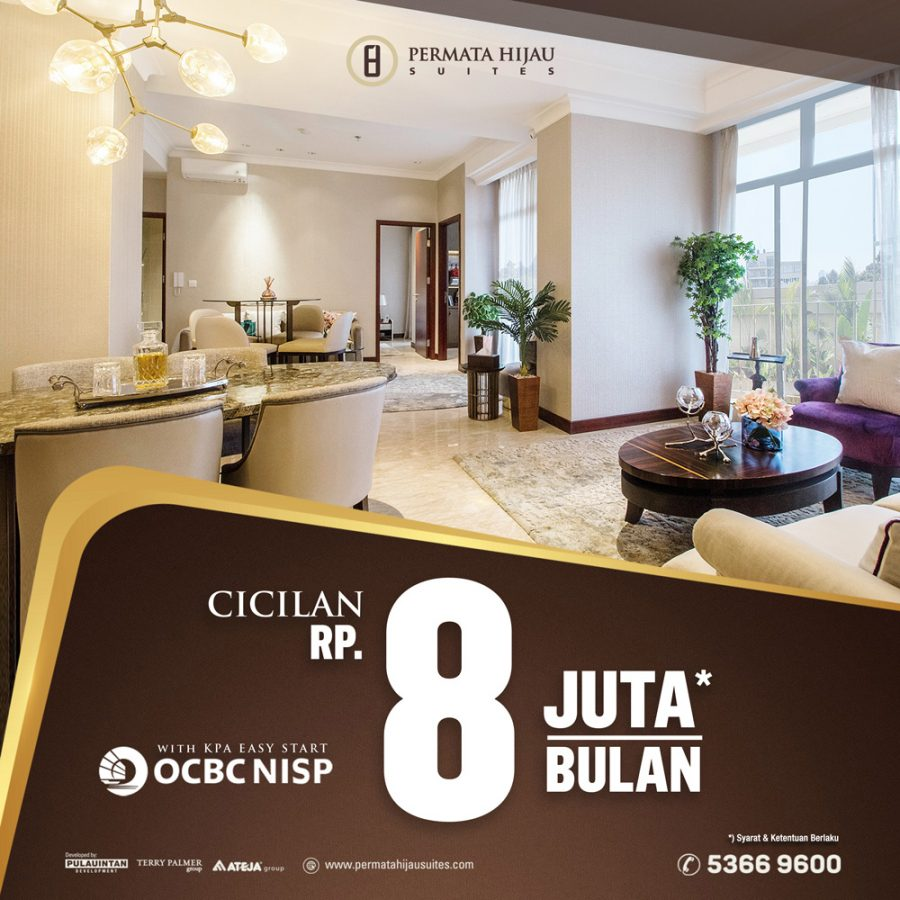 Cicilan Rp 8 Juta/Bulan* with KPA Easy Start OCBC NISP.
