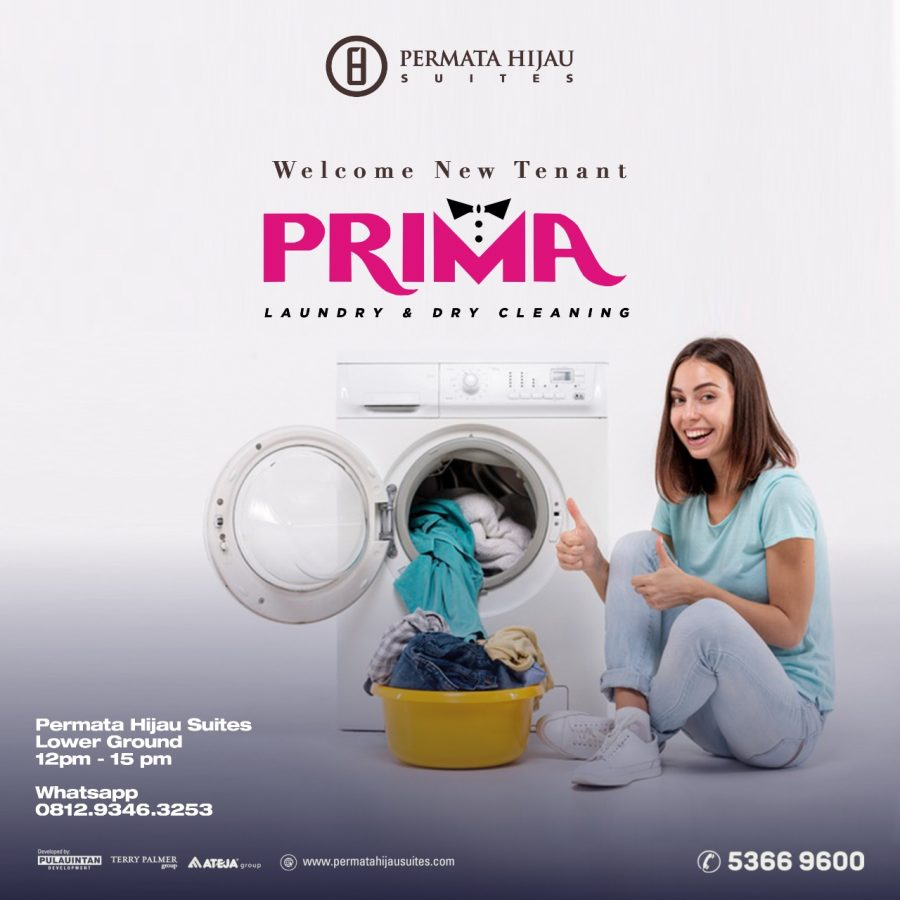 Welcome New Tenant, Prima Laundry